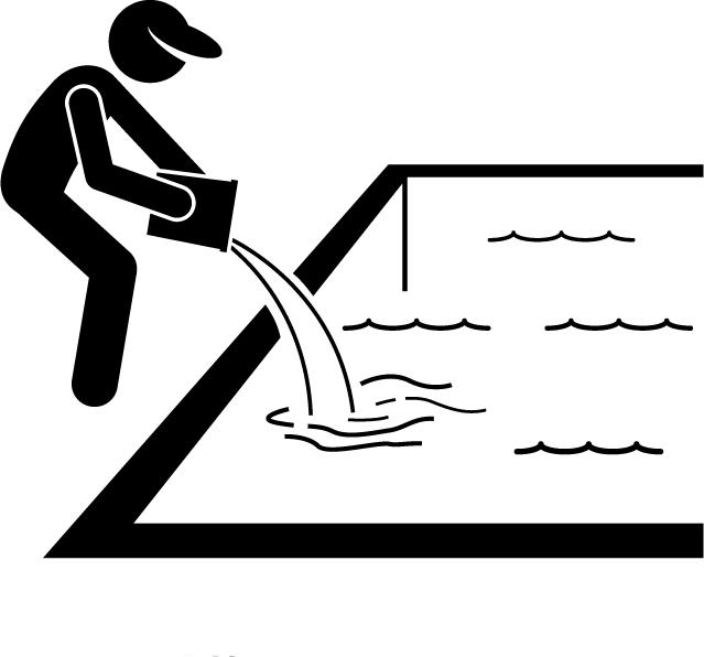 TurfnSurfLLC lawn and pool service chlorine and pH adjustment