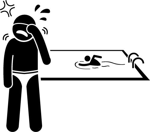 TurfnSurfLLC lawn and pool service avoid eye irritation