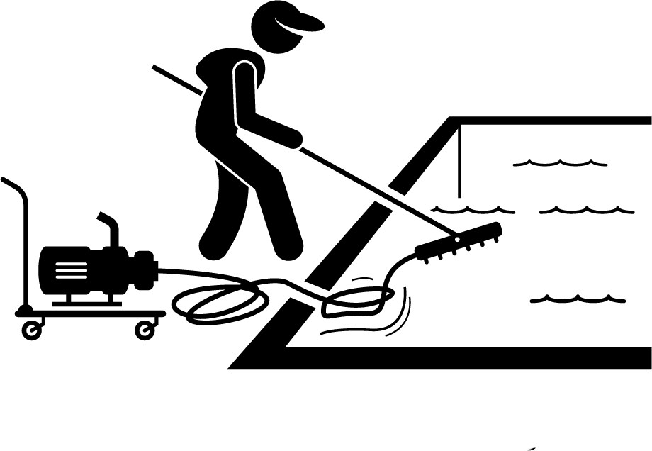TurfnSurfLLC lawn and pool service manual pool vacuum and brushing